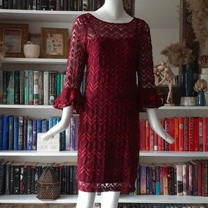 🔥3/30$ Cb knitted lace dress